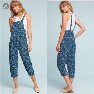 Anthropologie Maeve tidal jumpsuit size medium